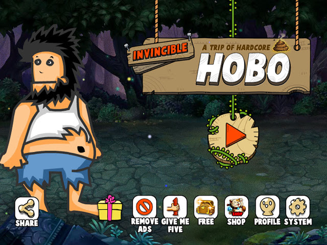 Download Free Game HOBO Invincible tramp Hack (All Versions) Unlimited Gold,Unlimited Gems 100% Working and Tested for IOS and Android