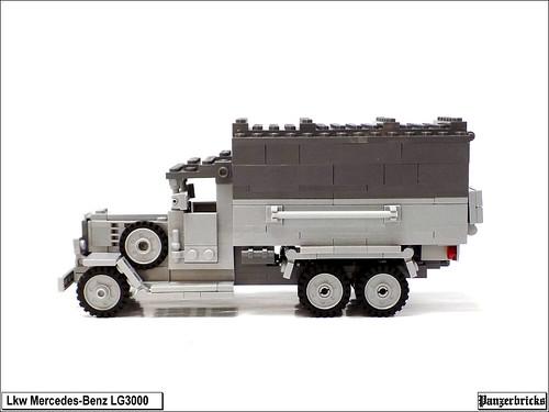 Lkw Mercedes Benz LG3000 de Panzerbricks