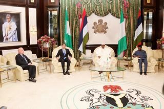 Deputy Secretary Blinken Meets With Nigerian President Buhari in Abuja