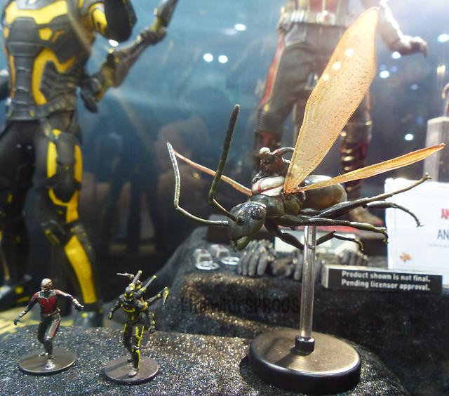 Hot Toys Ant Man mini figures