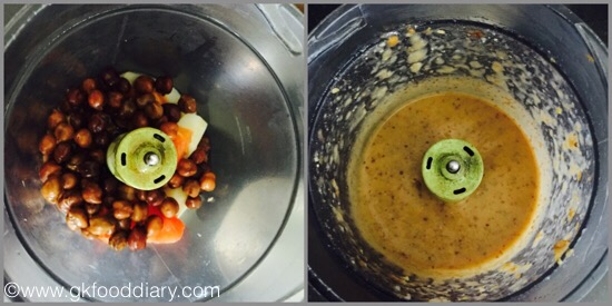 Chickpea with vegetables - step 3