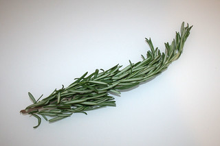 07 - Zutat Rosmarin / Ingredient rosemary
