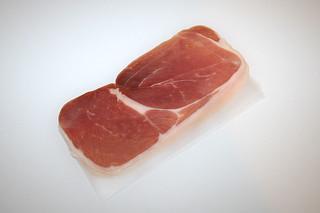 03 - Zutat Parmaschinken / Ingredient parma ham