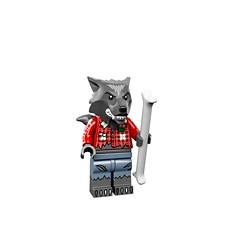 LEGO Collectible Minifigures Series 14: Monsters (71010) - Wolf Guy