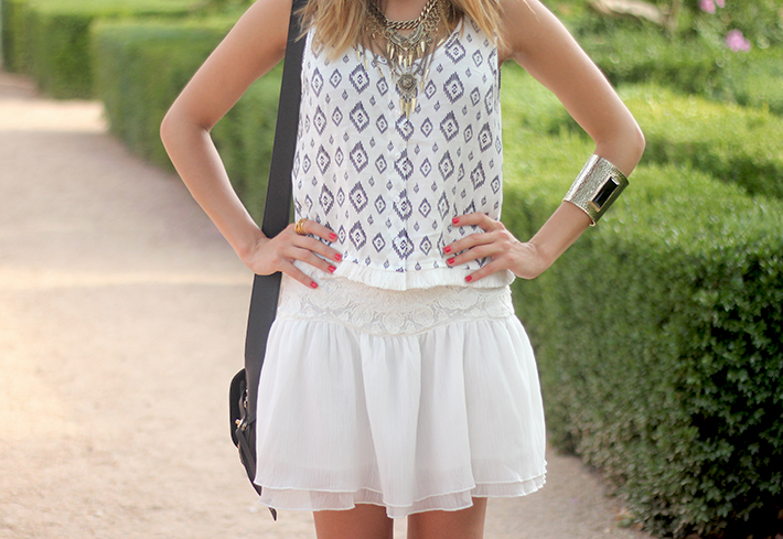 Black & White Summer Outfit Mango18