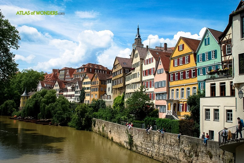 Tubingen not destroyed in WW2