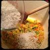 #Homemade #ZucchiniBlossom #Risotto #CucinaDelloZio - add the arborio