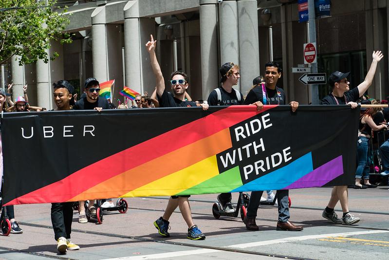 San Francisco Pride / UBER