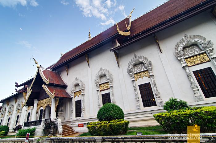 Viharn at Wat Chedi Luang Chiang Mai