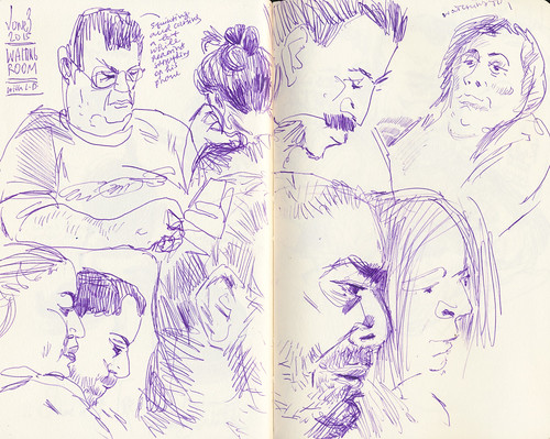 Sketchbook #90: Waiting