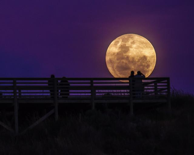 Super Moon, RICOH PENTAX K-1, HD PENTAX-D FA 150-450mm F4.5-5.6 ED DC AW