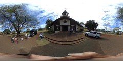 From the Liliuokalani Church - a 360° Equirectangular VR