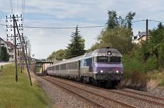 CC72100 dans la tranchée de Baulay
