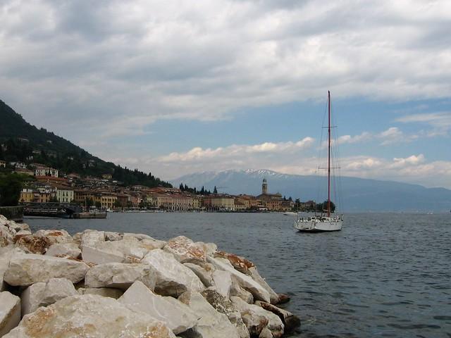 Blick auf Salò, Gardasee, Canon POWERSHOT A520