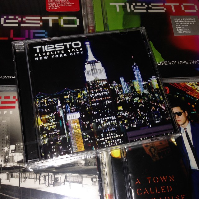 2015/06 Tiesto - Club Life vol.4 New York City CD