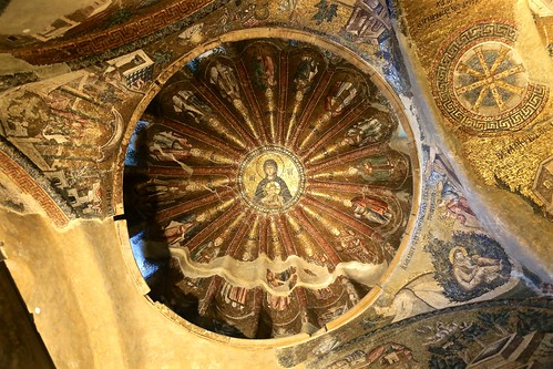 Chora Church mosaic