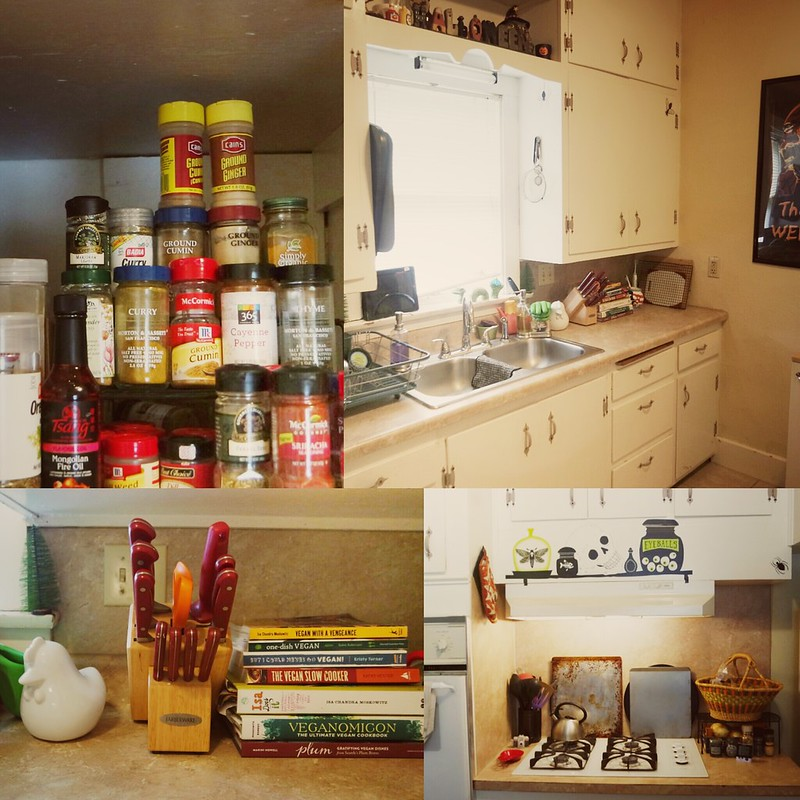 Day 37: clean kitchen happy #kitchen. #100happydays #vegan #EverydayIsHalloween