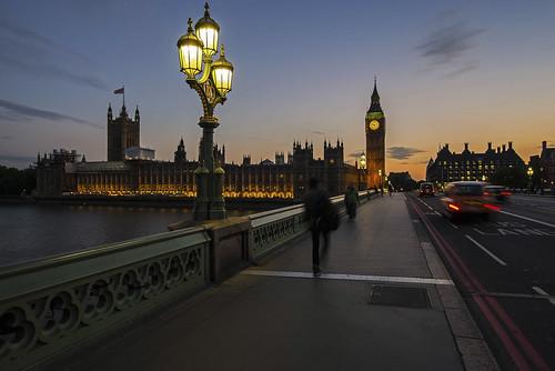 Westminster Bridge @night