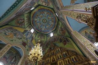 Росписи сводов Петропавловского храма