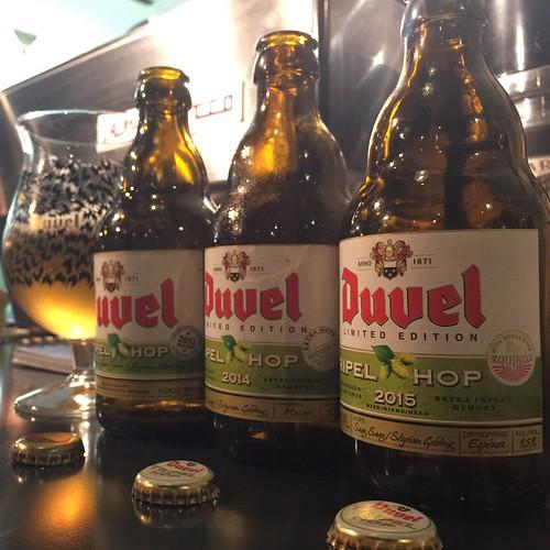 Duvel Tripel Hop/デュベル トリプルホップ 2013/2014/2015 飲み比べセット