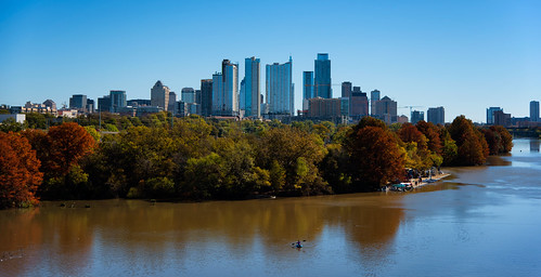 A sunny fall day in Austin, Texas November 23, 2014