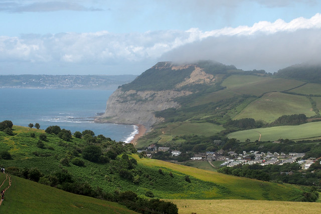 Seatown and Golden Cap near Eype