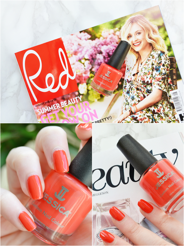 Free Jessica Nail Polish with Red Magazine - July 2015 | Makeup ...