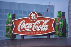 Stl Coca Cola Rooftop Deck Sign The Coca Cola Rooftop De Flickr