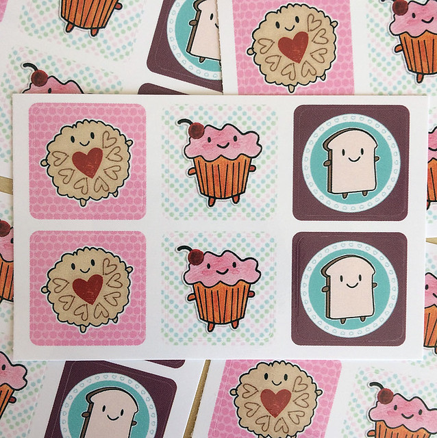 Cakeify & Friends Stickers