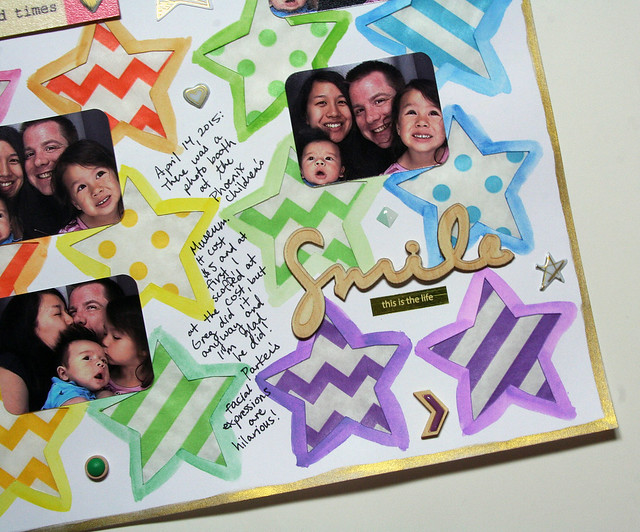 Smile This is the Life Layout | shirley shirley bo birley Blog