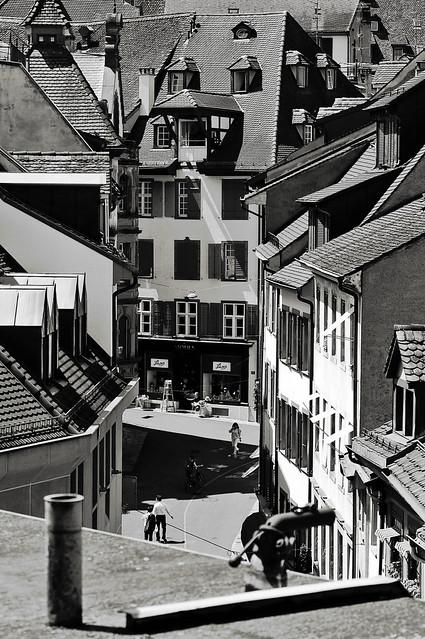 Dans les rues de Bâle