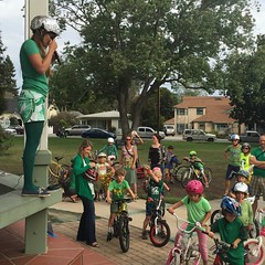 Kidical Mass: Green and Foil