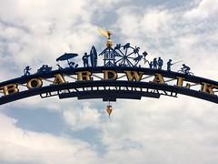 Ocean City Boardwalk Entrance