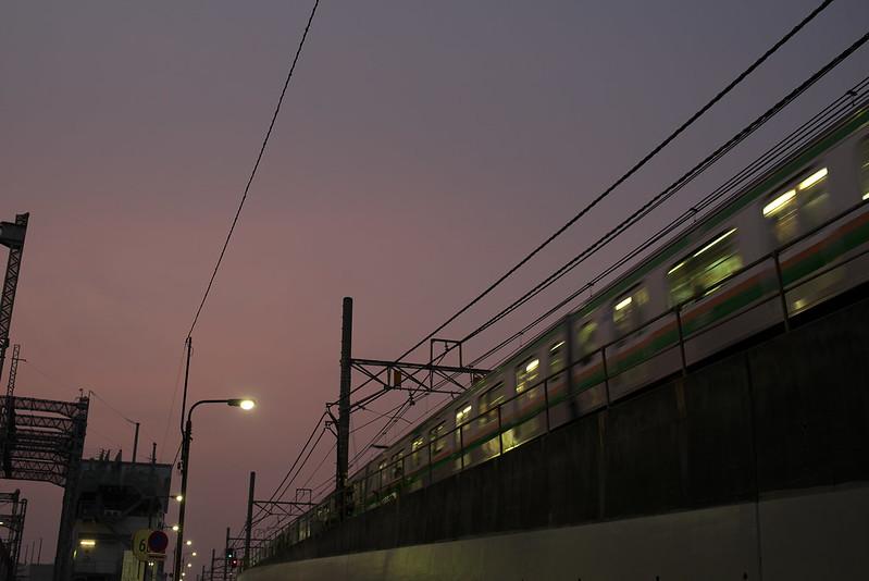 Tokyo Train Story 東北本線 2015年8月7日