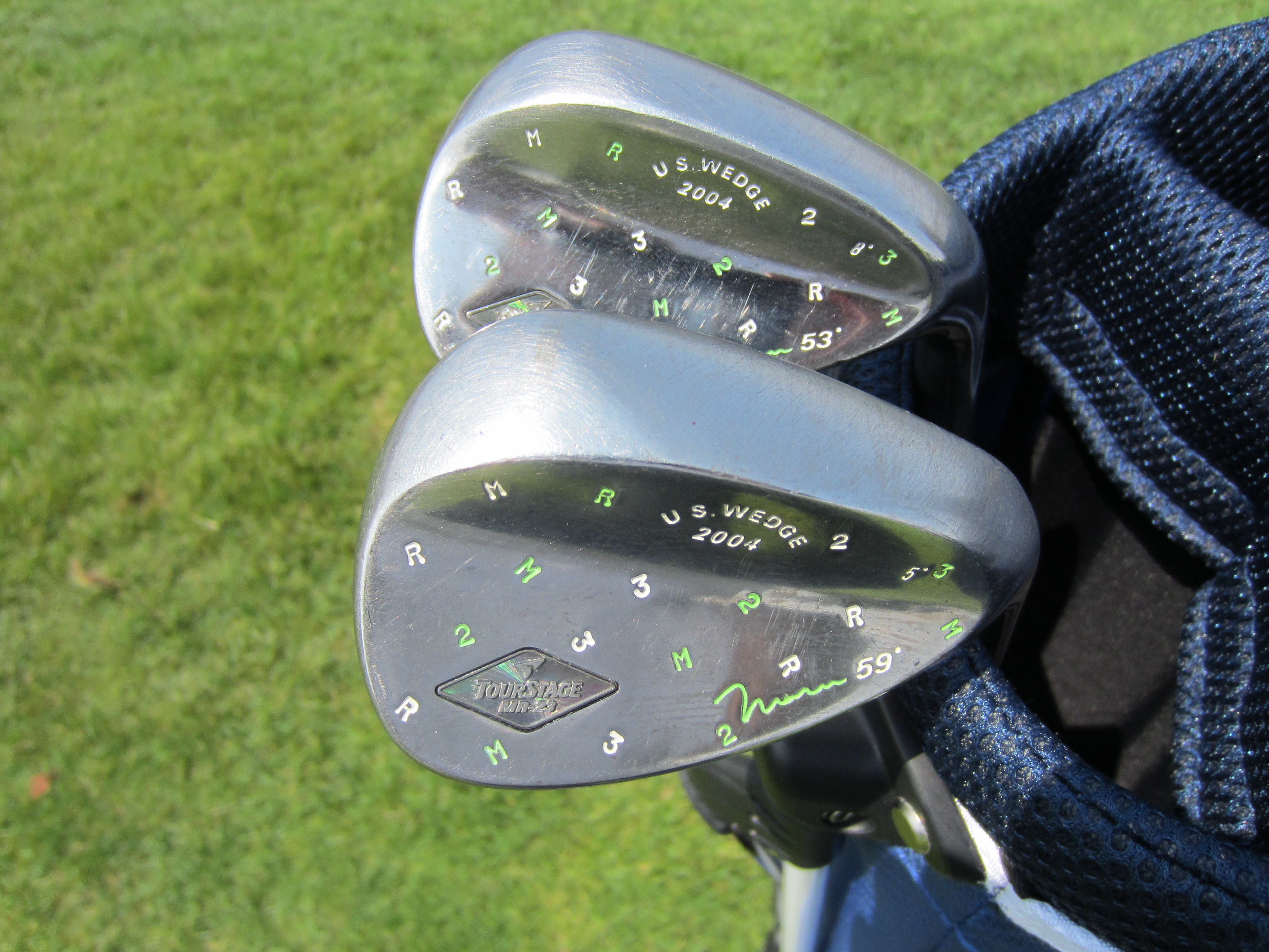 Japanese Forged Wedges Initial Look Motgolf Blog Spinner Iron Hiro Maru Back Shot