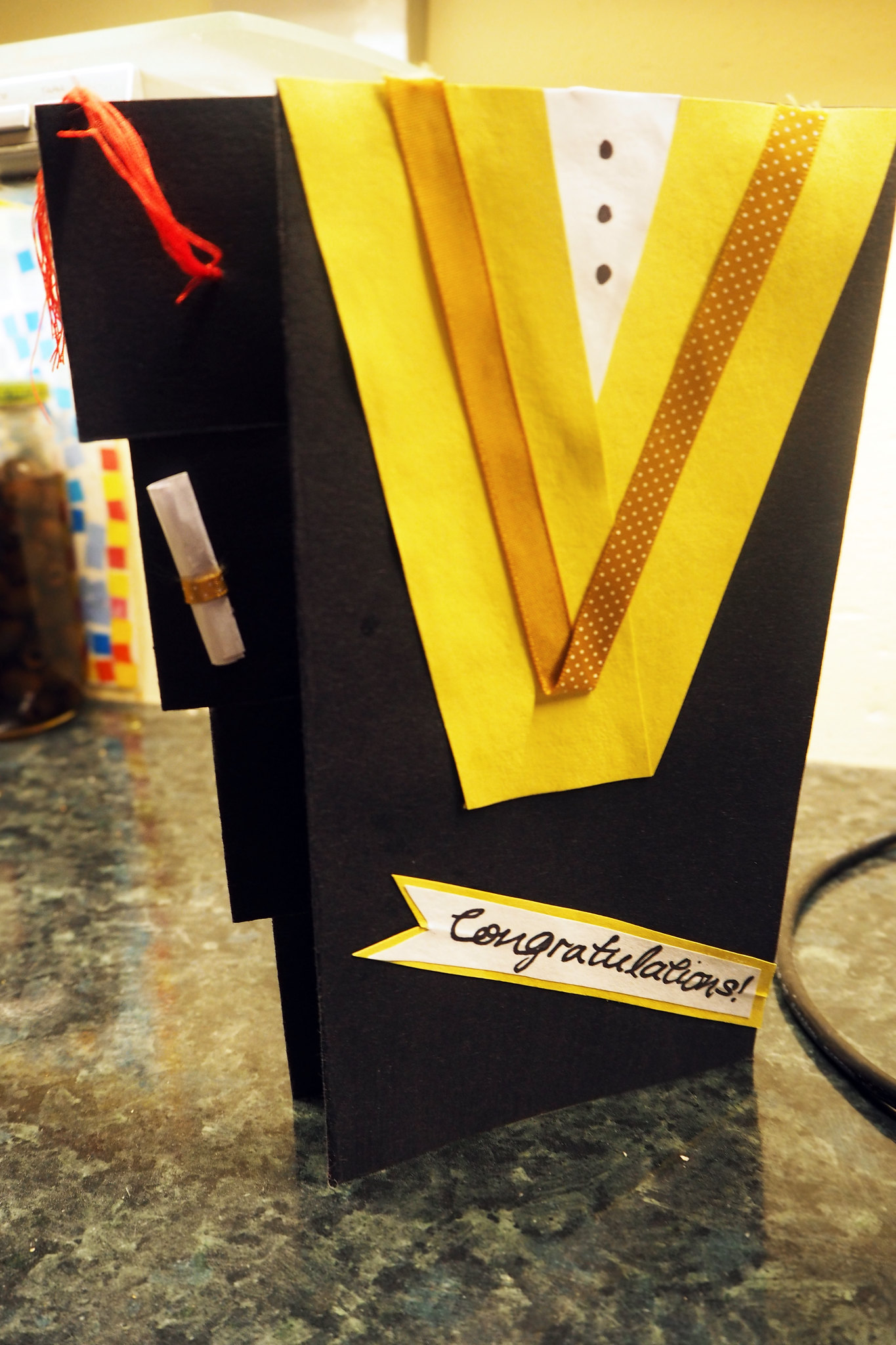 Diy Graduation Card Ideas Hums Of Sum