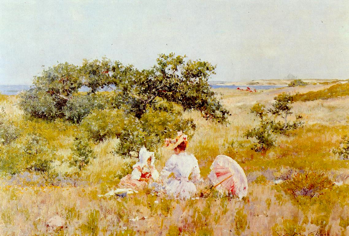 The Fairy Tale (also known as A Summer Day) by William Merritt Chase, c.1892