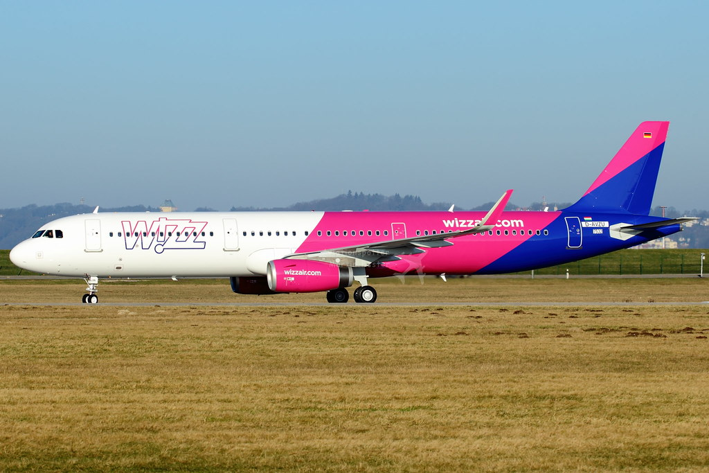 HA-LXN - A321 - Wizz Air