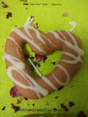 Baked Sweet Heart Donuts ~ Gluten-Free