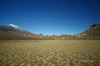 Llano Ucanca ,Teide y Montaña Guajara