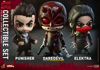 Hot Toys – COSB348 - 351 –【夜魔俠】Daredevil Cosbaby Bobble-Head