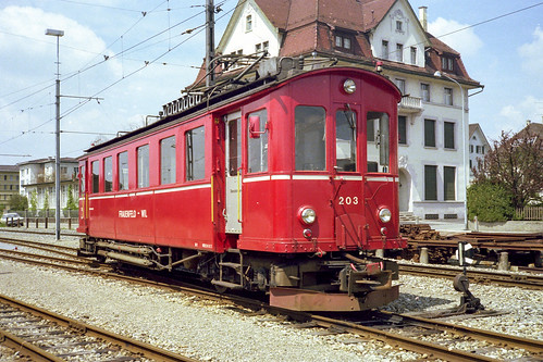 Wil | CH-SG (St. Gallen) | 13.05.1979 | FW-Be 4/4 203