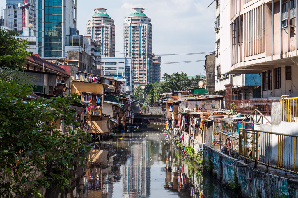 The streets of Old Manila, Philippines (Slum area)