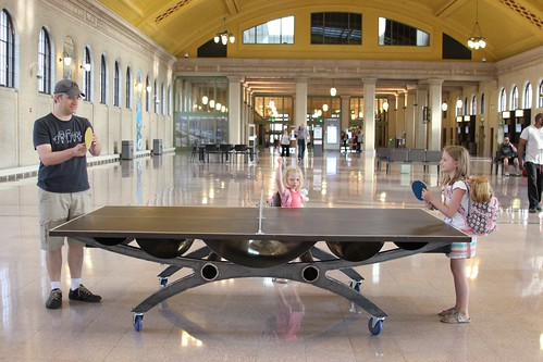 Ping pong at Union Depot