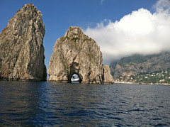 Faraglioni Rocks off the island of Capri
