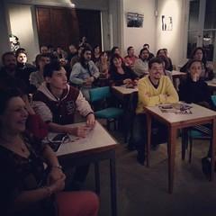 Anoche, a 101 años de que haya nacido @anibaltroilo y a 1 año de haber estrenado la película #Pichuco la proyectamos en #LaFlorDeBarracas en compañía de sus nietos y sobrinos, y con el dúo Uhart-Cecchi, y a sala llena!!!!!! Gran festejo de cumpleaños!!!!!