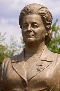 Image of Валентина Сергеевна Соловьёва. europe statuary tiraspol transnistria transdniestria тирасполь