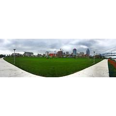Smale Pano - #cincygram #cincypics #cincinnati #riverfrontpark #smale #panorama #skyscrapers #architecture #latergram
