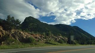 Sur la route des montagnes