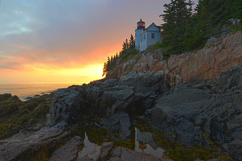 usa lighthouse maine northamerica bassharbor mountdesertisland 770307 august2015